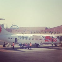 Photo taken at Ahmad Yani International Airport (SRG) by Lenny Y. on 9/21/2012