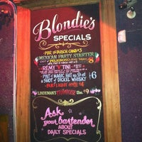 Photo taken at Blondie's Bar by Dean M. on 3/22/2013