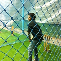 Photo taken at Netz Cricket by Vishal K. on 10/12/2012