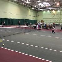 Photo taken at Теннисный корт TETRA by Konstantin T. on 2/19/2017