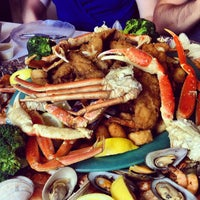 Photo taken at Margie and Rays Seafood Restaurant by Zack R. on 7/4/2013