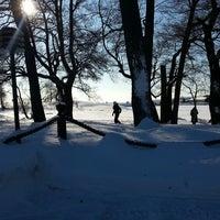 Photo taken at Ravintola Uunisaari by Jeremias K. on 2/24/2013