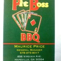 Photo taken at Pit Boss BBQ by Mr P. on 9/21/2012