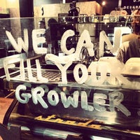 Photo taken at Cartel Coffee Lab by Dustin C. on 7/27/2013