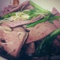 Photo taken at 陳家豬肝湯 by Michella Jade W. on 11/22/2012