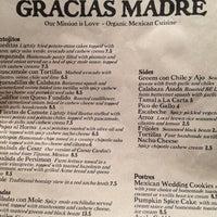 Photo prise au Gracias Madre par Matthew H. le11/5/2012