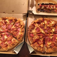 Photo taken at Domino's Pizza by Aung Min O. on 10/21/2014