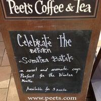 Photo taken at Peet's Coffee & Tea by Mark G. on 1/11/2013