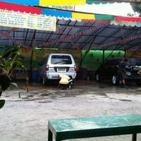 Photo taken at Suranta Jaya Car Wash by Jane S. on 9/25/2012