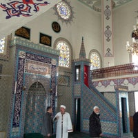 Photo taken at İrsad Camii by Hakan T. on 2/15/2013