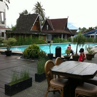 Photo taken at Taman Air Sabda Alam Hotel & Resort by Nova V. on 2/22/2013