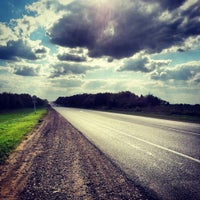 Photo taken at М-2 Симферопольское шоссе by Any N. on 8/18/2013