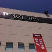 Photo taken at Wi Spa by Ninja N. on 5/10/2013