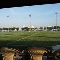Photo taken at Al Ahli Sports Club by Leitzel P. on 12/6/2013