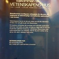 Photo taken at Vetenskapens Hus by Lubomir N. on 2/9/2014