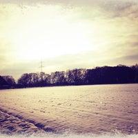 Photo taken at Heerener Wald by Merve R. on 1/19/2013