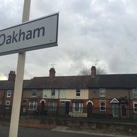 Photo taken at Oakham Railway Station (OKM) by Tom A. on 12/23/2016