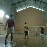 Photo taken at Lap. Badminton Soulin by Monica K. on 8/24/2014
