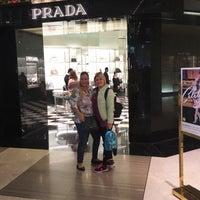 Photo taken at Prada by Berna A. on 1/29/2016