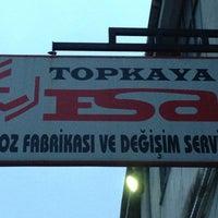 2/26/2013 tarihinde Berk T.ziyaretçi tarafından Esa Egzoz Fabrikası'de çekilen fotoğraf