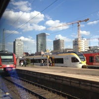 Photo taken at Dortmund Hauptbahnhof by Danijela . on 4/18/2013