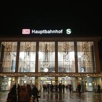Photo taken at Dortmund Hauptbahnhof by Danijela . on 12/17/2012