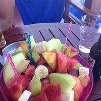 Photo taken at Almyra Beach Bar by Оксана on 7/18/2013