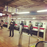 Photo taken at Asakadai Station (TJ13) by o t. on 12/11/2012