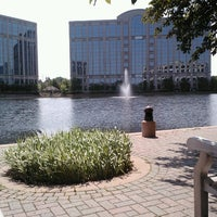 Photo taken at Centennial Lakes Park by Maria G. on 6/30/2013