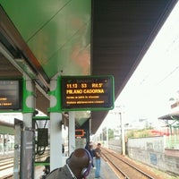 Photo taken at Stazione Novate Milanese by Gianfranco C. on 9/22/2012