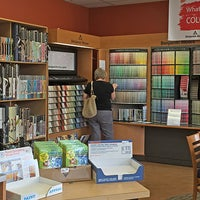 Photo taken at COLOR WHEEL PAINT CENTER by Sproutloud L. on 1/12/2017