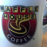 Photo taken at Waffle House by Karl W. on 1/23/2013