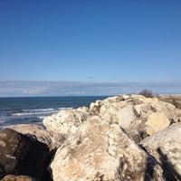 Photo taken at Stone Beach by Iman K. on 2/14/2017