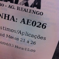 Photo taken at Caixa Econômica Federal by Ingred on 4/10/2013