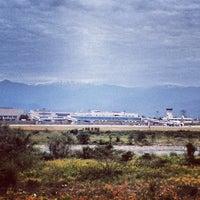 Photo taken at 富山空港 神通川対岸 by Perf_ume6420 N. on 10/18/2013