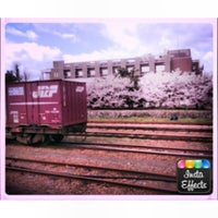 Photo taken at Hayahoshi Station by Perf_ume6420 N. on 4/8/2013