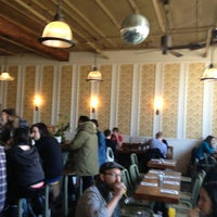 Photo taken at Roebling Tea Room by Stephanie on 3/24/2013