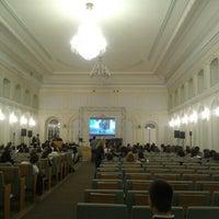 Photo taken at School of International Relations SPBU by Katya K. on 11/28/2012