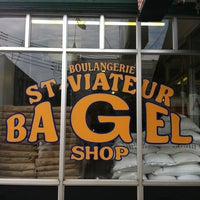 Photo taken at St-Viateur Bagel (La Maison du Bagel) by Martin R. on 7/5/2013