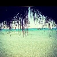 Photo taken at Fun Beach Club by Serap on 8/5/2013