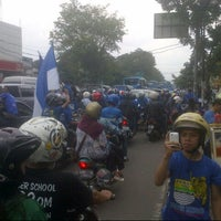 Photo taken at Stadion Persib by Deli S. on 11/9/2014