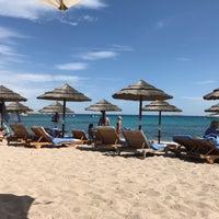 Photo taken at Hotel Romazzino, Costa Smeralda by Dinç D. on 9/4/2017