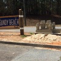 Photo taken at Sandy Beach by Cyndie S. on 3/22/2014
