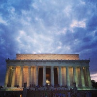 Foto scattata a Lincoln Memorial da Angelica il 7/25/2013