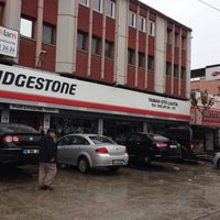 Photo taken at BRIDGESTONE - YAMAN OTO LASTİK by Fazıl C. on 10/31/2014