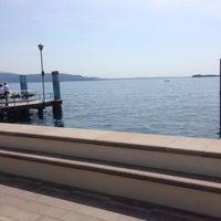 Photo taken at Gardone Riviera Port by Klaus M. on 5/11/2015