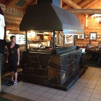 Photo taken at Guy's Lolo Creek Steakhouse by Ted D. on 8/11/2014