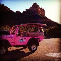 Photo taken at Pink Jeep Tours Sedona, AZ by Dee on 12/20/2012