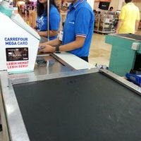 Photo taken at Carrefour by Patrick C. on 10/2/2013