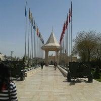 Photo taken at Konya Cemetery Museum by Sena H. on 4/7/2013